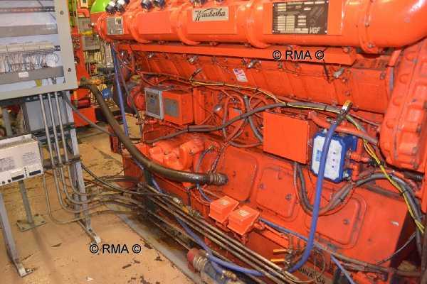 3 56 Mw Natural Gas Engine Generator Cogeneration Plant 6